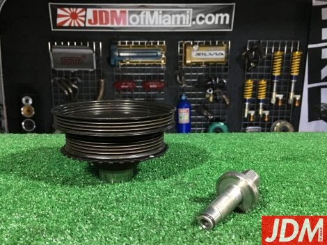 MAZDA RX-8 ECCENTRIC SHAFT PULLEY / RX8 Renesis N3H1-11-400C Crankshaft Crank #2