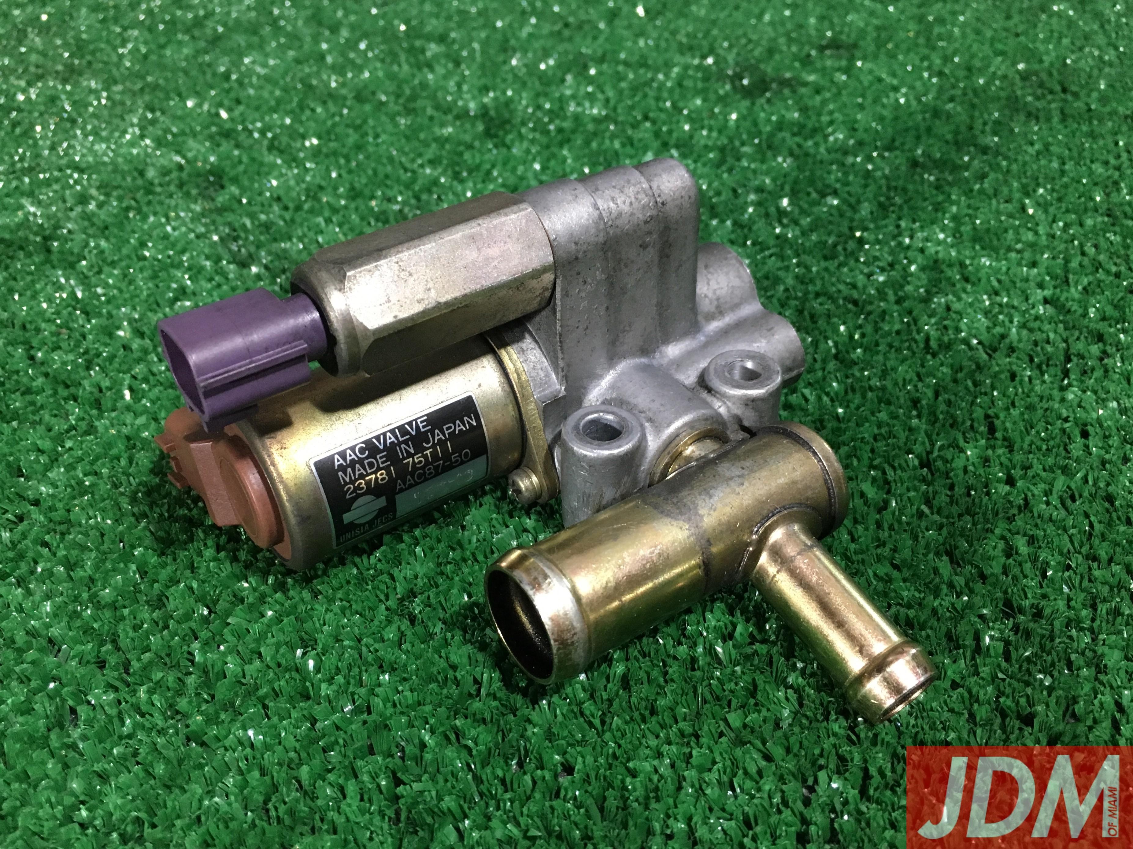 IAC Idle Control Valve Gasket Set Genuine Nissan AAC For S13 200SX CA18DET
